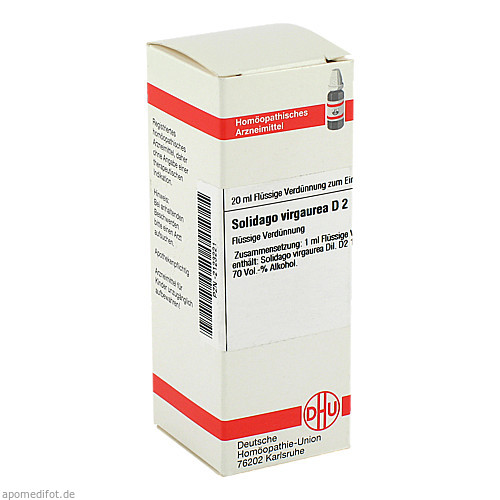 SOLIDAGO VIRGA D 2, 20 ML, Dhu-Arzneimittel GmbH & Co. KG