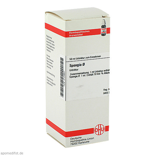 SPONGIA URT D 1, 50 ML, Dhu-Arzneimittel GmbH & Co. KG