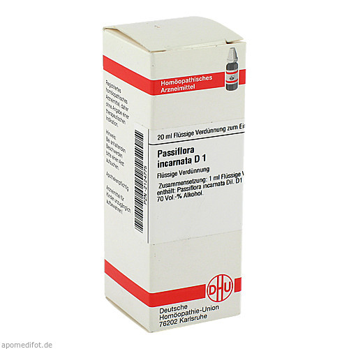 PASSIFLORA INCARNATA D 1, 20 ML, Dhu-Arzneimittel GmbH & Co. KG