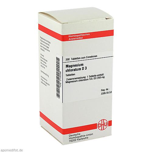 MAGNESIUM CHLORAT D 3, 200 ST, Dhu-Arzneimittel GmbH & Co. KG