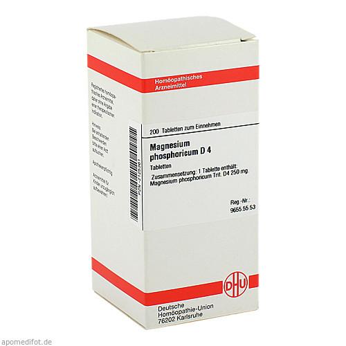MAGNESIUM PHOS D 4, 200 ST, Dhu-Arzneimittel GmbH & Co. KG