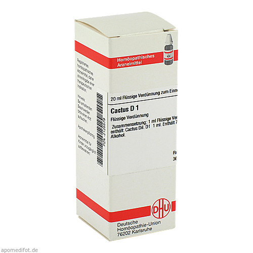 CACTUS D 1, 20 ML, Dhu-Arzneimittel GmbH & Co. KG