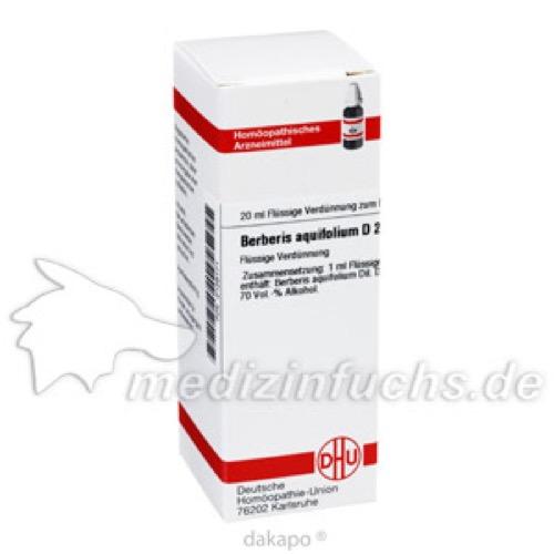 BERBERIS AQUIF D 2, 20 ML, Dhu-Arzneimittel GmbH & Co. KG