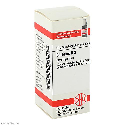 BERBERIS D 3, 10 G, Dhu-Arzneimittel GmbH & Co. KG
