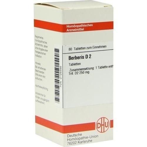 BERBERIS D 2, 80 ST, Dhu-Arzneimittel GmbH & Co. KG