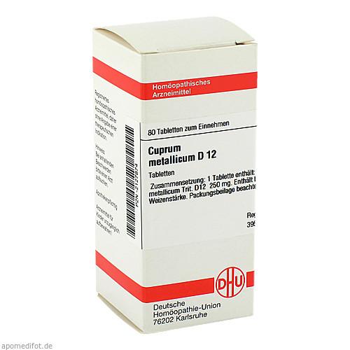 CUPRUM MET D12, 80 ST, Dhu-Arzneimittel GmbH & Co. KG
