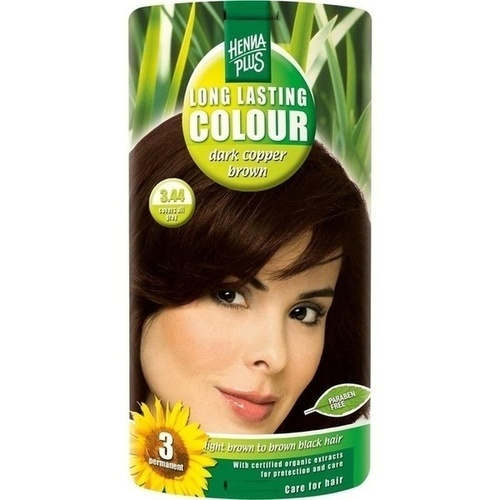 Long Lasting Colour Dark Copper Brown 3.44, 100 ML, Frenchtop Natural Care Products B.V
