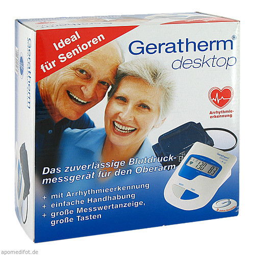 Gerath Blutdruckmessg Oberarmaut desktop, 1 ST, Geratherm Medical AG