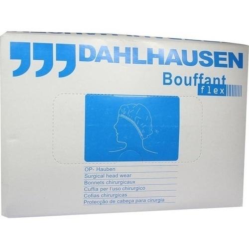 OP-Haube Bouffant Flex grün, 100 ST, P.J.Dahlhausen & Co. GmbH