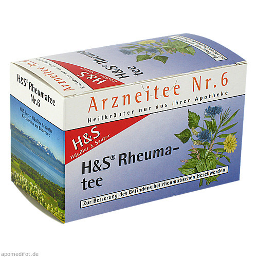 H&S Rheumatee, 20X2.0 G, H&S Tee - Gesellschaft mbH & Co.