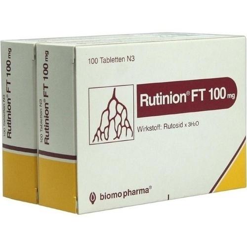 RUTINION FT 100mg, 200 ST, Biomo Pharma GmbH