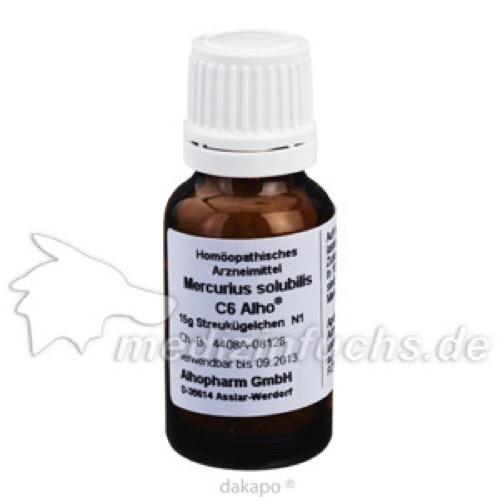 MERCURIUS SOLUB C 6, 15 G, Alhopharm Arzneimittel GmbH