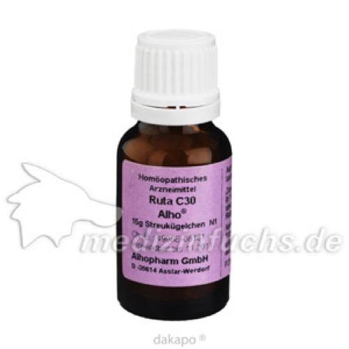 RUTA C30, 15 G, Alhopharm Arzneimittel GmbH