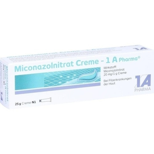 Miconazolnitrat Creme - 1 A Pharma, 25 G, 1 A Pharma GmbH