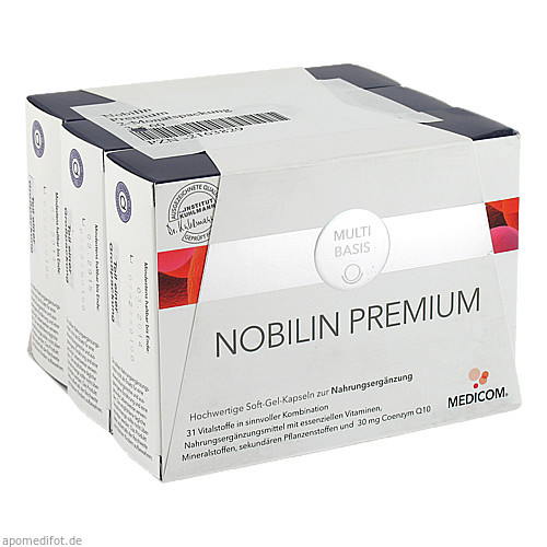 Nobilin Premium Kombipackung, 3X60 ST, Medicom Pharma GmbH