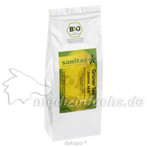 Grüner Tee Jasmin kbA, 100 G, Sanitas GmbH & Co. KG
