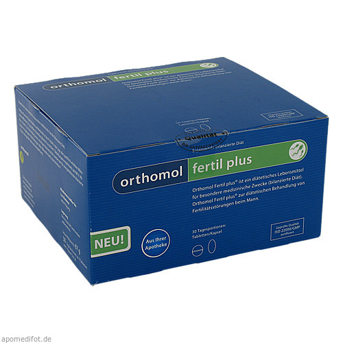 Orthomol Fertil plus, 30 ST, Orthomol Pharmazeutische Vertriebs GmbH