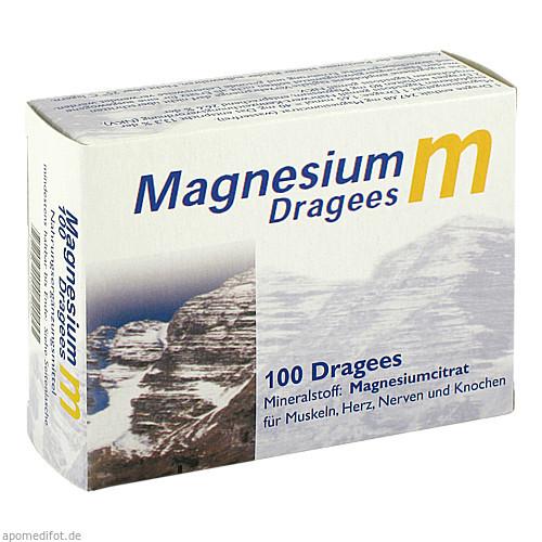 Magnesium M Dragees, 100 ST, Dr. Zinke Diätetika GmbH