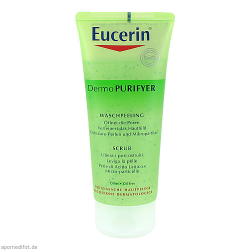 EUCERIN DermoPURIFYER Waschpeeling, 100 ML, Beiersdorf AG Eucerin