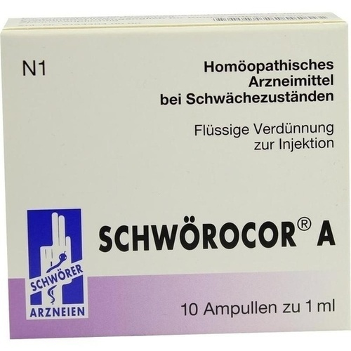 Schwörocor A, 10X1 ML, Pharma Schwörer GmbH
