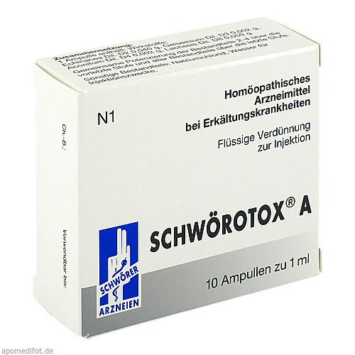 Schwörotox A, 10X1 ML, Pharma Schwörer GmbH