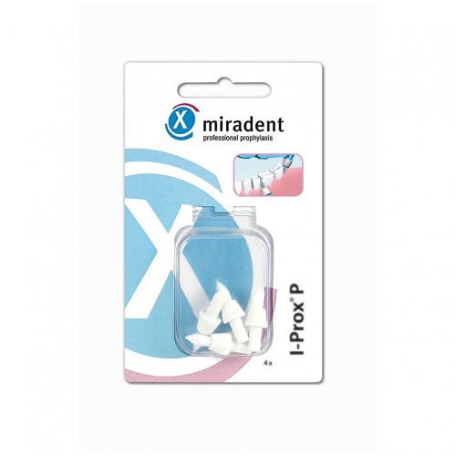 I-Prox P Ersatz-Spitzbürsten weiß soft, 4 ST, Hager Pharma GmbH