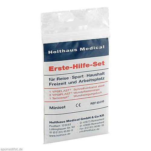 Erste-Hilfe-Miniset, 1 ST, Holthaus Medical GmbH & Co. KG