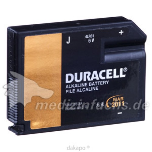 Duracell Security J (7K67) BG1 6 Volt, 1 ST, Duracell Germany GmbH