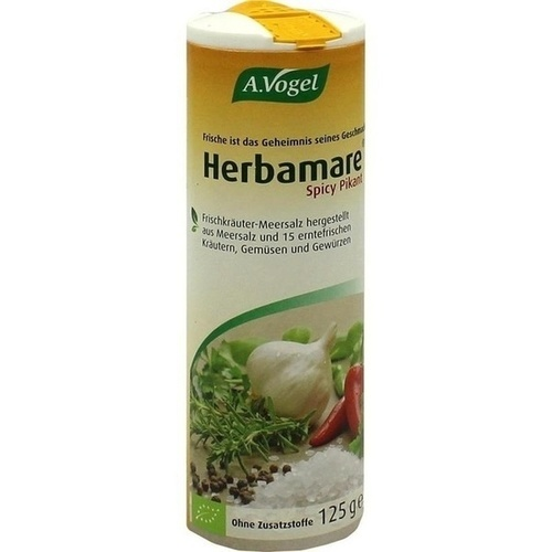 A.Vogel Herbamare spicy, 125 G, Kyberg experts GmbH