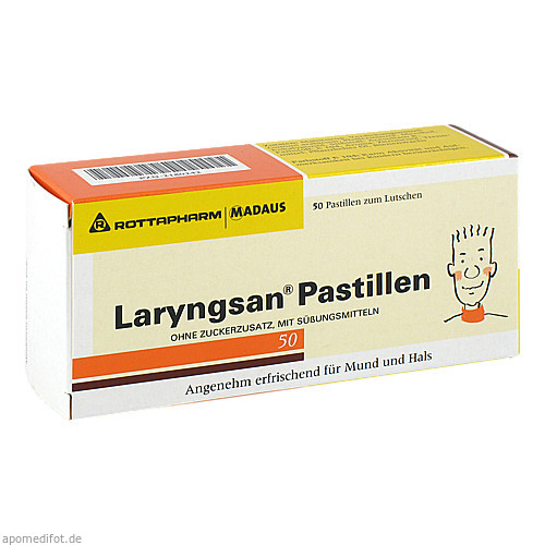Laryngsan Pastillen, 50 ST, MEDA Pharma GmbH & Co.KG