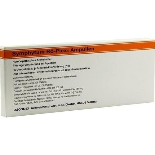 Symphytum Rö Plex Ampulle, 10X5 ML, Medphano Arzneimittel GmbH