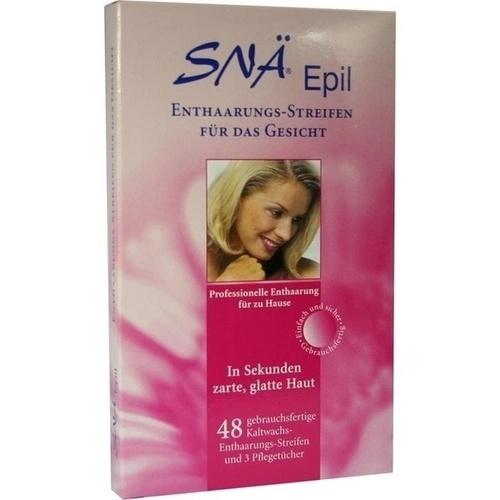 Enthaarungs-Streifen Gesicht Snae Epil, 48 ST, Axisis GmbH
