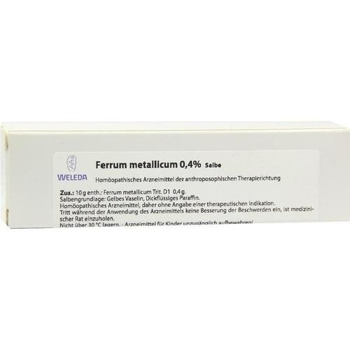 Ferrum metallicum 0.4%, 23 G, Weleda AG
