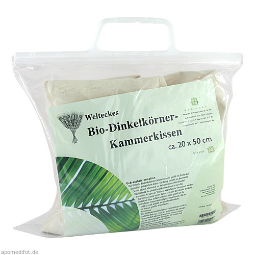 Dinkel-Körner-Kammerkissen 20x50cm, 1 ST, Alexander Weltecke GmbH & Co. KG