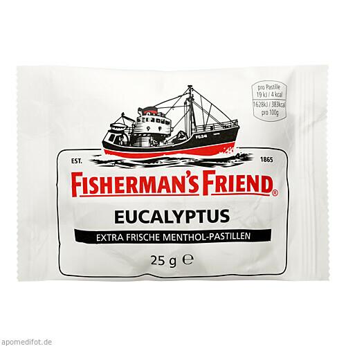 FISHERMANS FRIEND EUCALYPTUS MIT ZUCKER, 25 G, Queisser Pharma GmbH & Co. KG