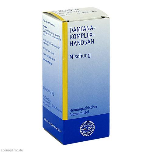 DAMIANA KOMPL, 50 ML, Hanosan GmbH