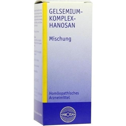 GELSEMIUM KOMPL HANOSAN, 50 ML, Hanosan GmbH