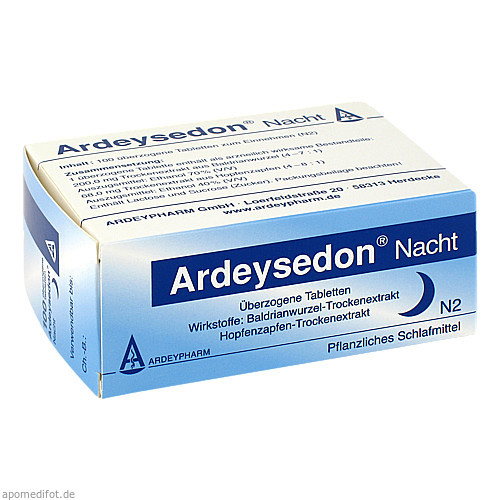ARDEYSEDON Nacht, 100 ST, Ardeypharm GmbH