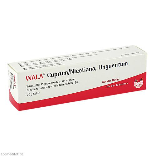 CUPRUM/NICOTIANA UNGT, 30 G, Wala Heilmittel GmbH