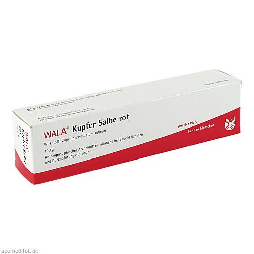 KUPFER-SALBE ROT, 100 G, Wala Heilmittel GmbH