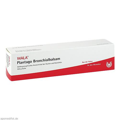 PLANTAGO-BRONCHIALBALSAM, 100 G, Wala Heilmittel GmbH