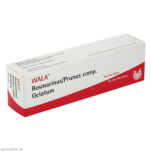 ROSMARINUS/PRUNUS COMP GEL, 30 G, Wala Heilmittel GmbH
