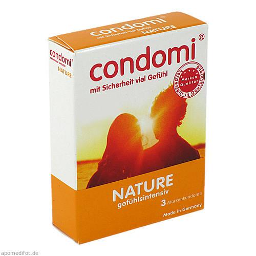 CONDOMI Nature, 3 ST, Importhaus Wilms / Impuls GmbH &Co.KG