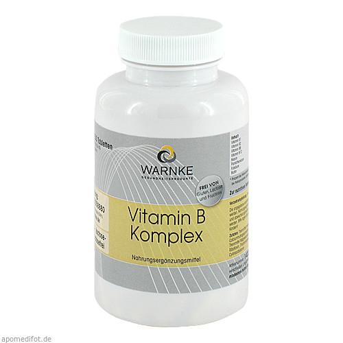 Vitamin B Komplex, 250 ST, Warnke Vitalstoffe GmbH