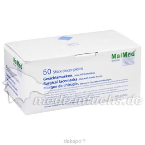 OP-Mundschutz unsteril, 50 ST, Maimed GmbH
