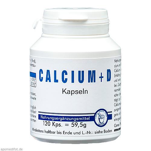 CALCIUM + D Kapseln, 120 ST, Pharma-Peter GmbH