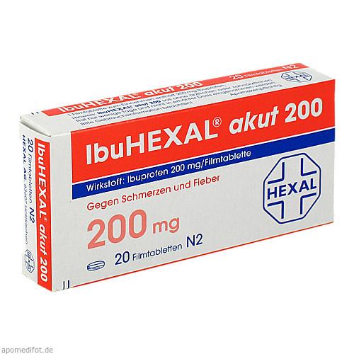 IbuHEXAL akut 200, 20 ST, HEXAL AG