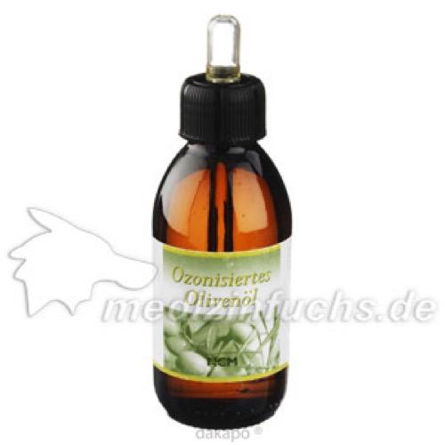 Ozonisiertes Olivenöl, 150 ML, NCM Nahrungsergänzung & Naturkosmetik GmbH