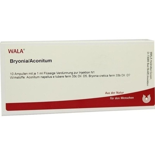 BRYONIA/ACONITUM, 10X1 ML, Wala Heilmittel GmbH