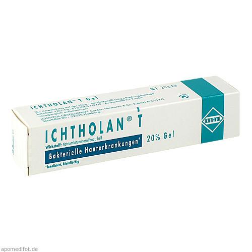 ICHTHOLAN T Gel, 20 G, Ichthyol-Gesellschaft Cordes Hermani & C